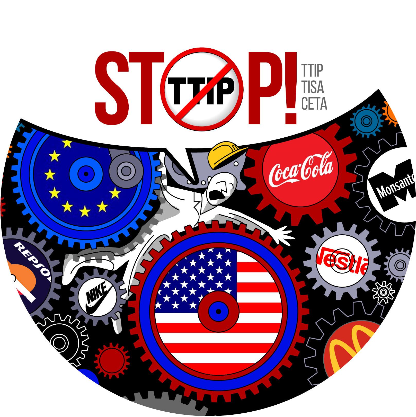 TTIP-ellenes grafika. Forrás: Flickr